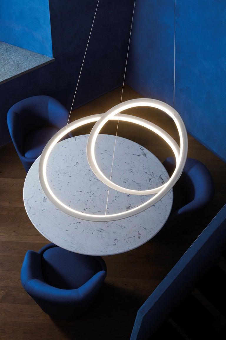 For Sale: White (White ) Nemo Kepler Uplight LED 3000K Dimmable Pendant Lamp by Arihiro Miyake 2