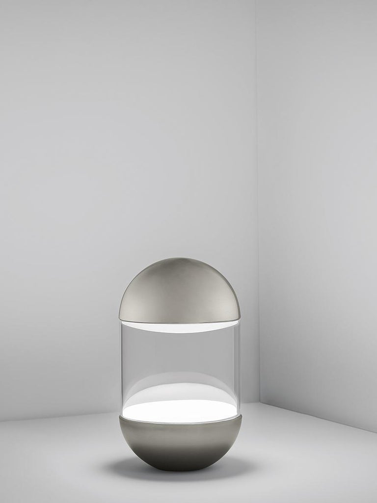 For Sale: White (WH — White) Firmamento Milano Pillola Table Lamp by Parisotto and Formenton Architetti