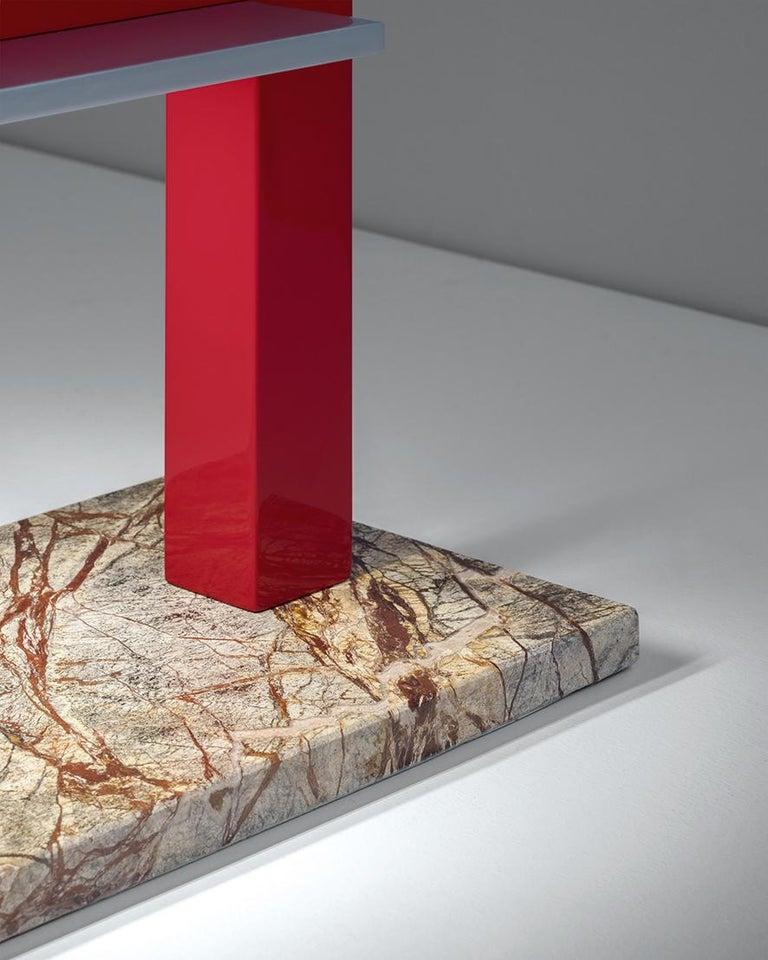For Sale: Multi (GF — Green Forest) Firmamento Milano Trilite Table Lamp by Franco Raggi 2