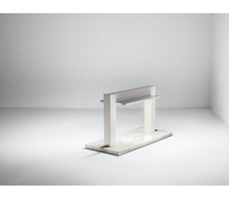 For Sale: White (WH — White) Firmamento Milano Trilite Table Lamp by Franco Raggi