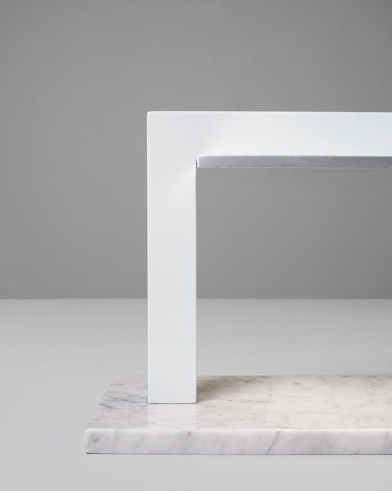 For Sale: White (WH — White) Firmamento Milano Trilite Table Lamp by Franco Raggi 2