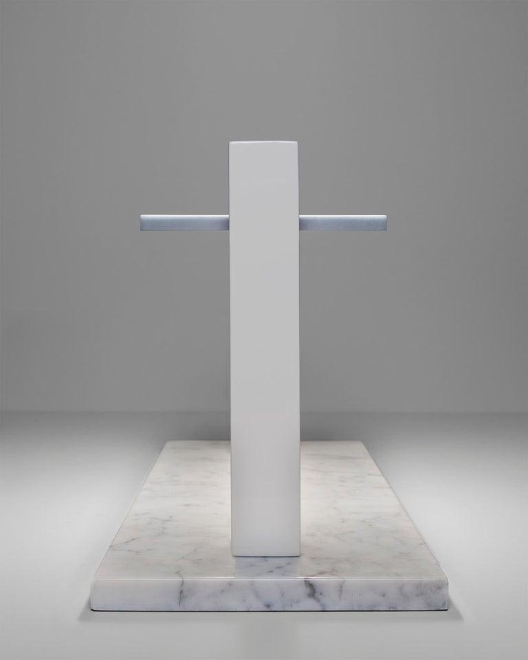 For Sale: White (WH — White) Firmamento Milano Trilite Table Lamp by Franco Raggi 3
