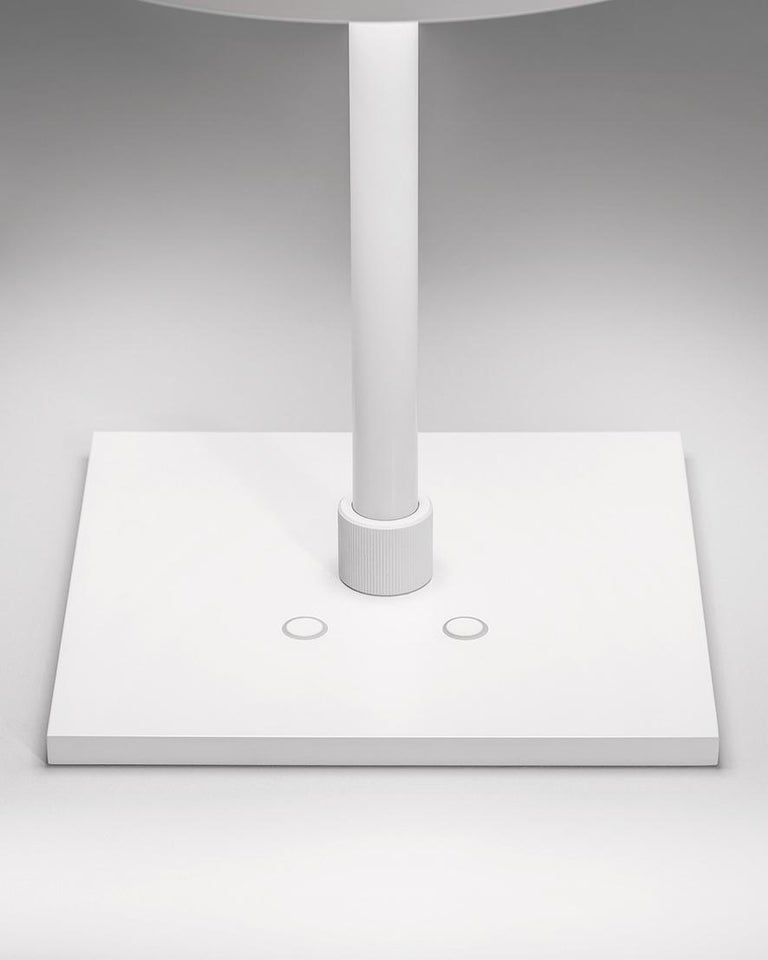 For Sale: White (WH — White) Firmamento Milano Sese Table Lamp by Carlo Guglielmi 2