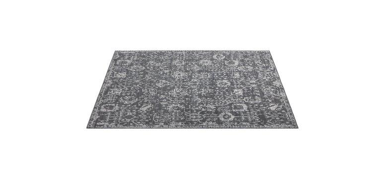 For Sale: Gray (Abra Carbon) Ben Soleimani Abra Rug 9'x12' 2