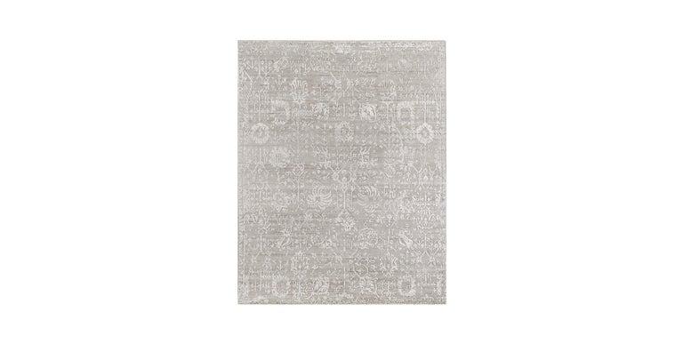 For Sale: Silver (Abra Fog) Ben Soleimani Abra Rug 9'x12'