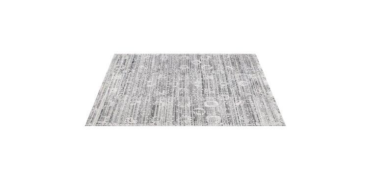 For Sale: Silver (Abra Platinum) Ben Soleimani Abra Rug 9'x12' 2