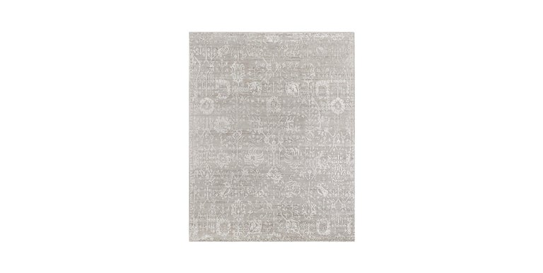 For Sale: Silver (Abra Fog) Ben Soleimani Abra Rug 10'x14'