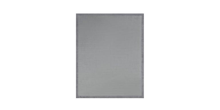 For Sale: Blue (Silk Marca Indigo) Ben Soleimani Silk Marca Rug– Handwoven Sheen Soft Dark Gray 10'x14'