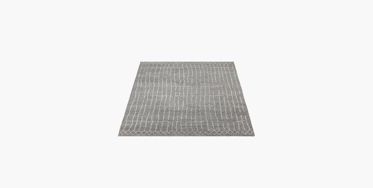 For Sale: Gray (Plaga Grey/Sand) Ben Soleimani Plaga Rug 9'x12' 2
