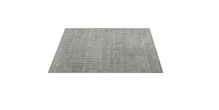 For Sale: Gray (Plaga Grey/Sand) Ben Soleimani Plaga Rug 9'x12' 3