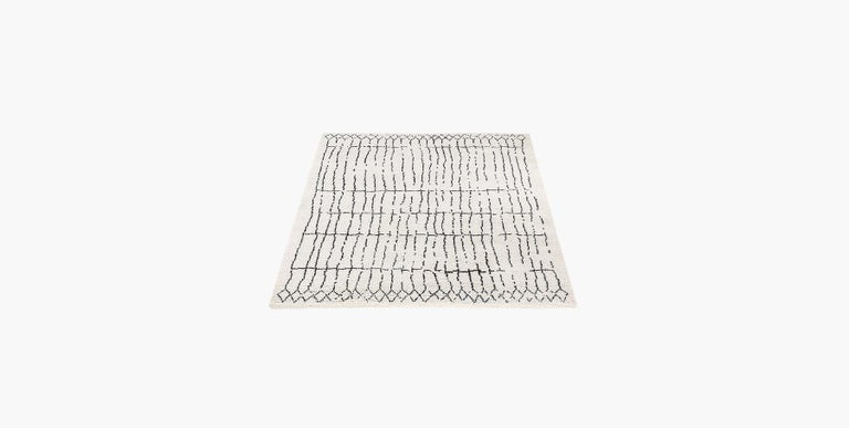 For Sale: Multi (Plaga Sand/Black) Ben Soleimani Plaga Rug 9'x12' 2
