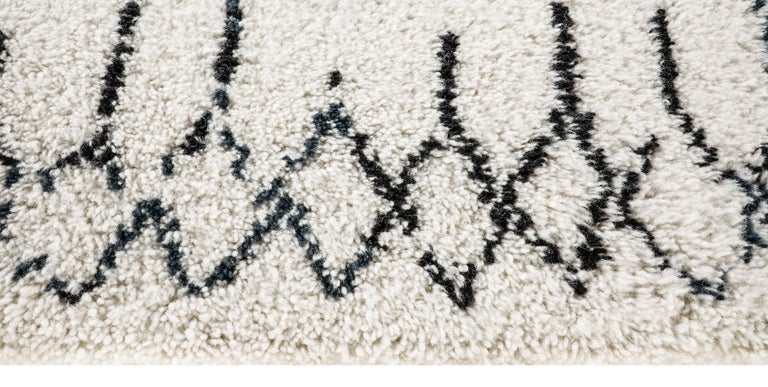 For Sale: Multi (Plaga Sand/Black) Ben Soleimani Plaga Rug 9'x12' 4