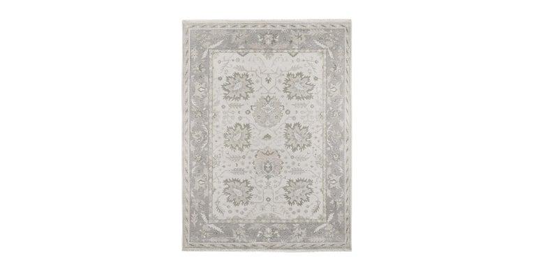 For Sale: Silver (Ayla Silver Mist) Ben Soleimani Ayla Rug 9'x12'