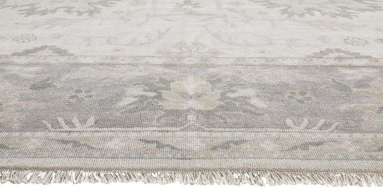 For Sale: Silver (Ayla Silver Mist) Ben Soleimani Ayla Rug 9'x12' 3