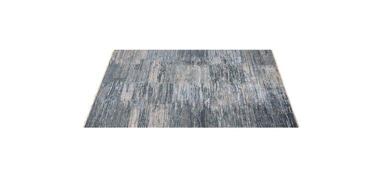 For Sale: Multi (Mano Indigo/Grey) Ben Soleimani Mano Rug 8'x10' 2