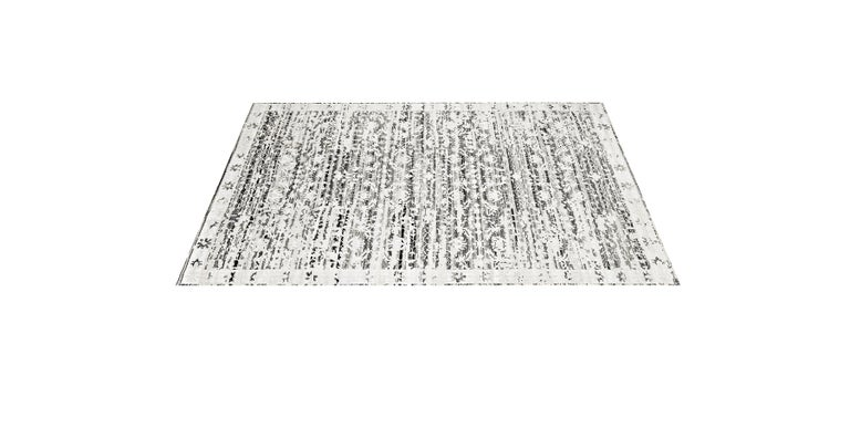 For Sale: Multi (Lerah Silver/Graphite) Ben Soleimani Lerah Rug 9'x12' 2