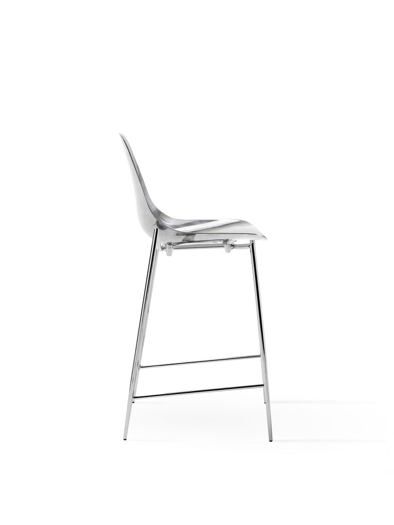 For Sale: Silver (Mirrored Aluminum with Chrome Structure) Opinion Ciatti Mammamia High Chair