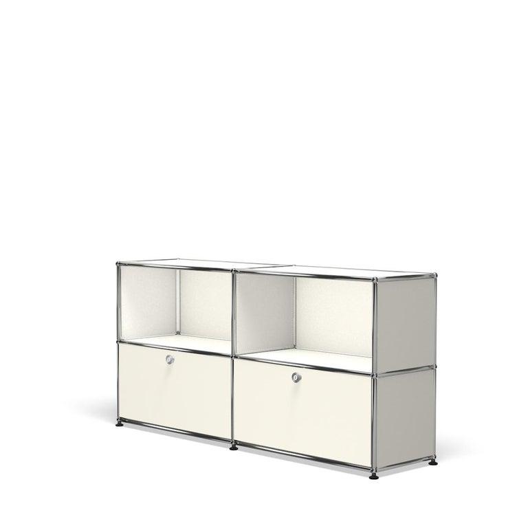 For Sale: White (Pure White) USM Haller Credenza C2A Storage System 2