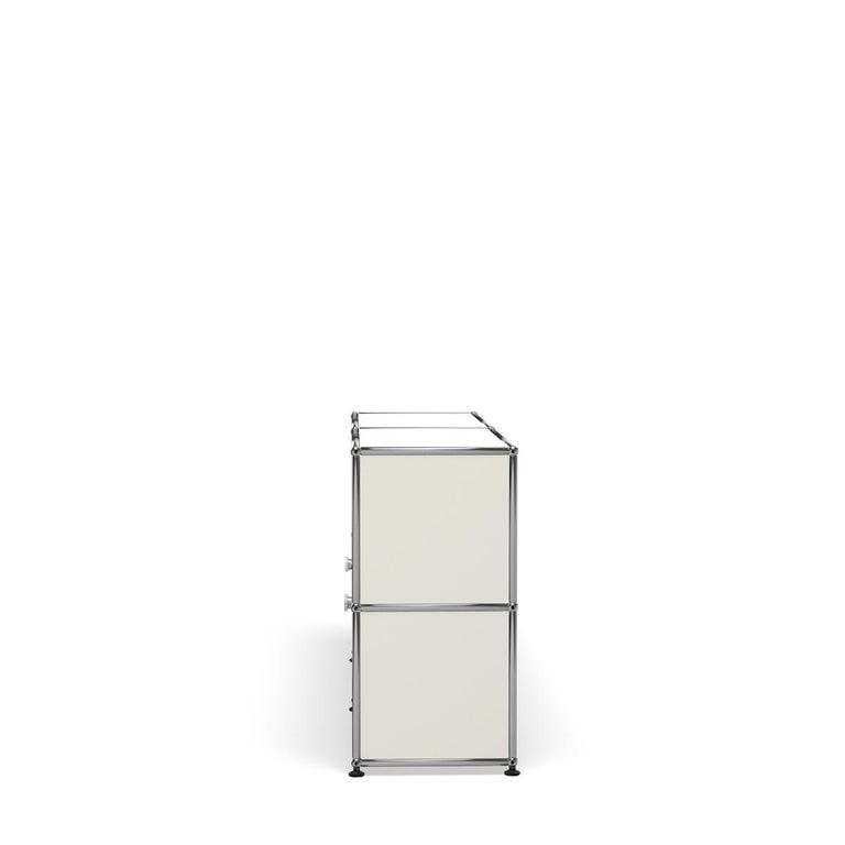 For Sale: White (Pure White) USM Haller Credenza C2A Storage System 3