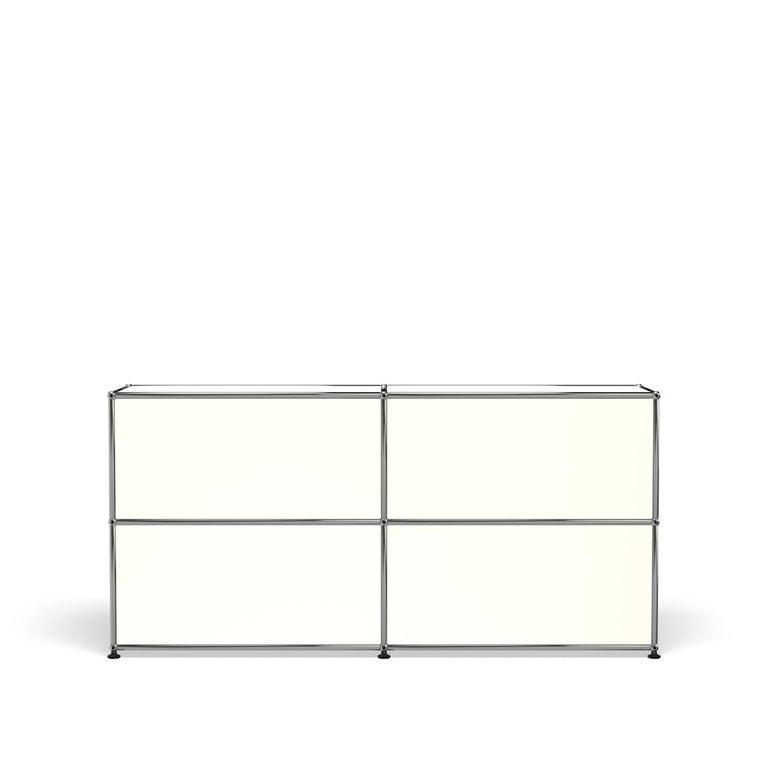For Sale: White (Pure White) USM Haller Credenza C2A Storage System 4
