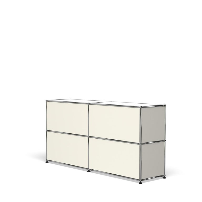 For Sale: White (Pure White) USM Haller Credenza C2A Storage System 5