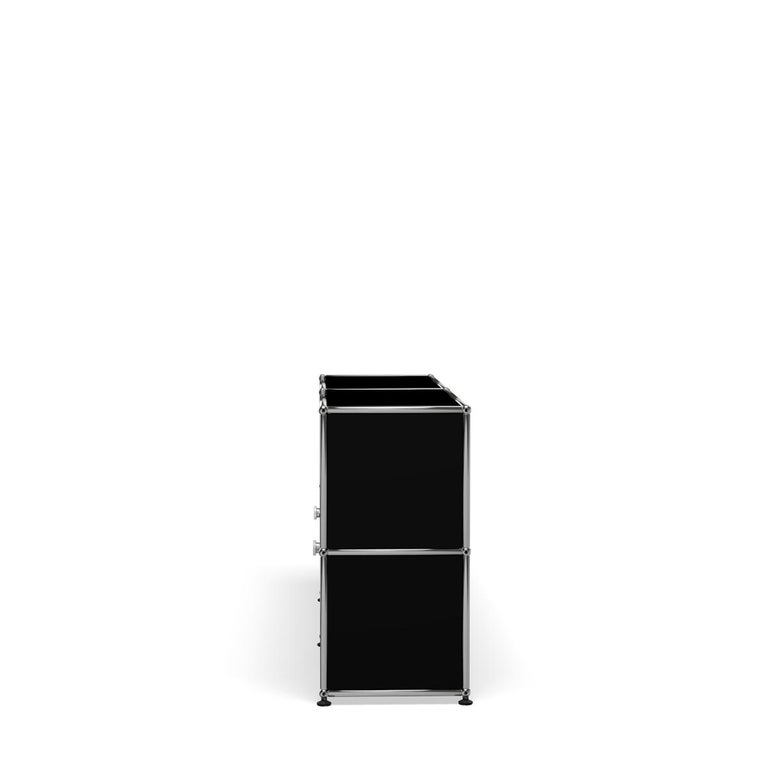 For Sale: Black (Graphite Black) USM Haller Credenza C2A Storage System 3