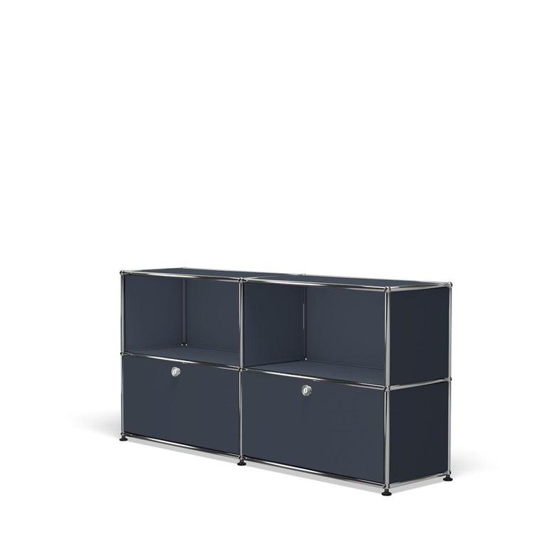 For Sale: Gray (Anthracite) USM Haller Credenza C2A Storage System 2