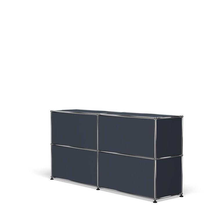 For Sale: Gray (Anthracite) USM Haller Credenza C2A Storage System 5
