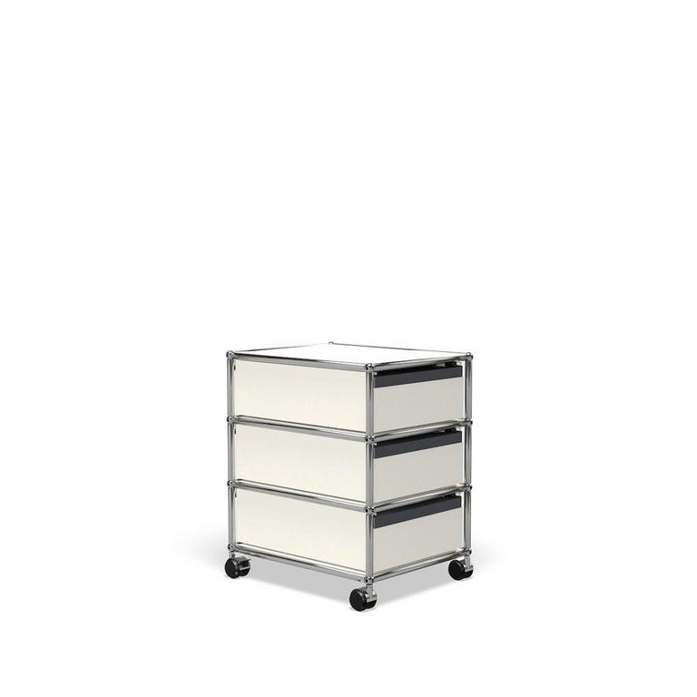 For Sale: White (Pure White) USM Haller Pedestal V Storage System 5