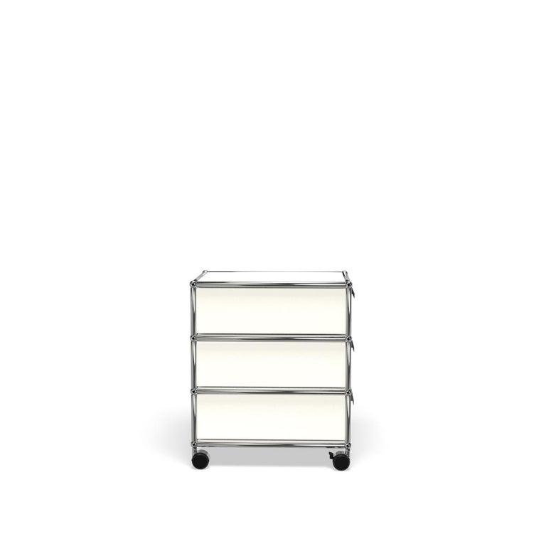 For Sale: White (Pure White) USM Haller Pedestal V Storage System 3
