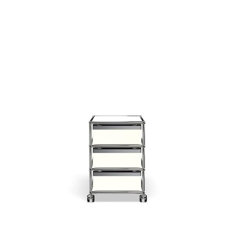 For Sale: White (Pure White) USM Haller Pedestal V Storage System 4