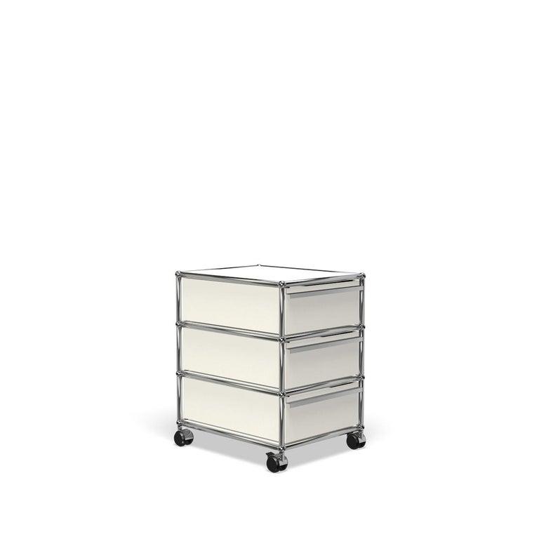 For Sale: White (Pure White) USM Haller Pedestal V Storage System 2