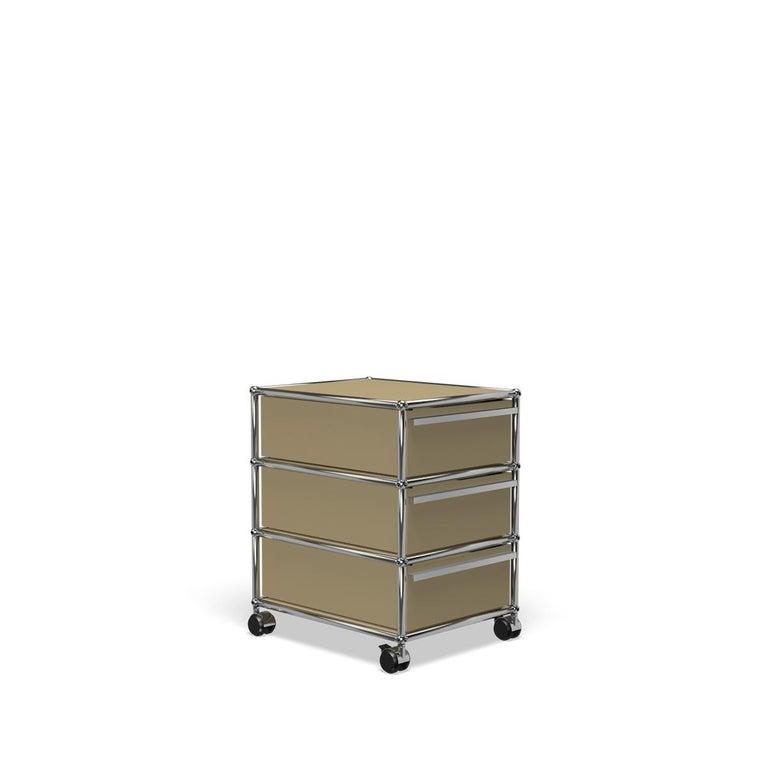For Sale: Beige USM Haller Pedestal V Storage System 2