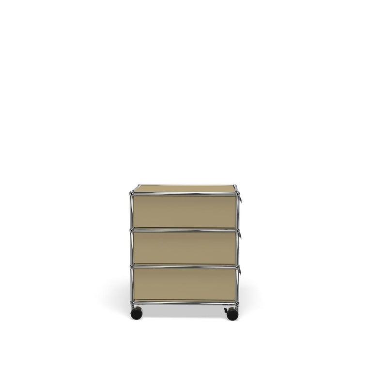 For Sale: Beige USM Haller Pedestal V Storage System 3