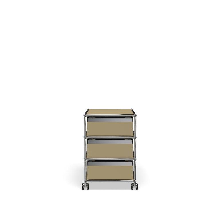 For Sale: Beige USM Haller Pedestal V Storage System 4