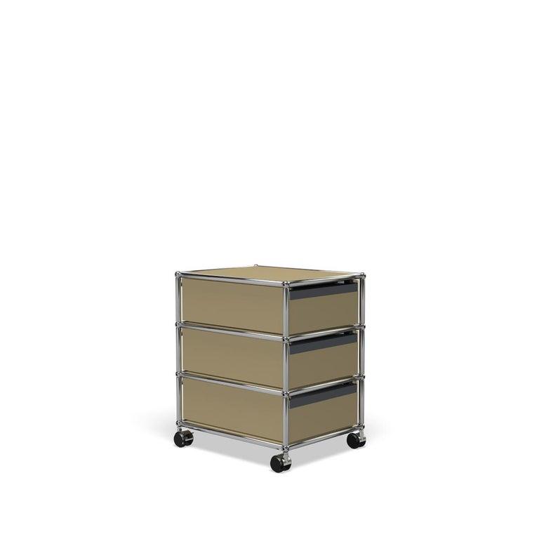 For Sale: Beige USM Haller Pedestal V Storage System 5
