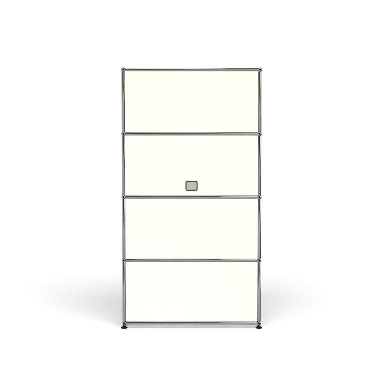 For Sale: White (Pure White) Haller Storage S118A Storage System by USM 4