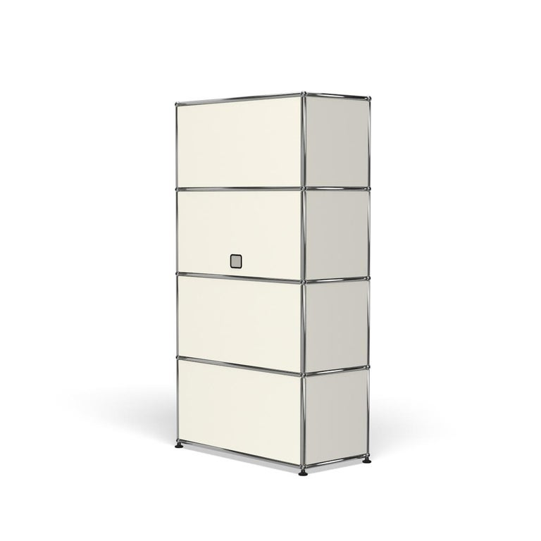 For Sale: White (Pure White) Haller Storage S118A Storage System by USM 5