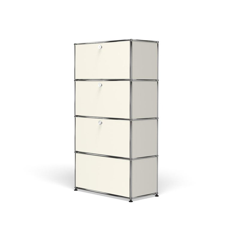For Sale: White (Pure White) Haller Storage S118A Storage System by USM 2
