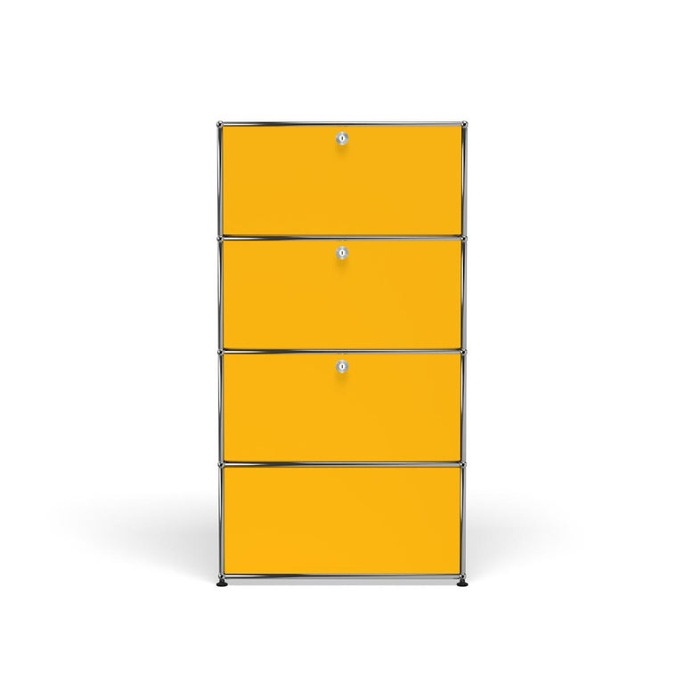 For Sale: Yellow (Golden Yellow) Haller Storage S118A Storage System by USM