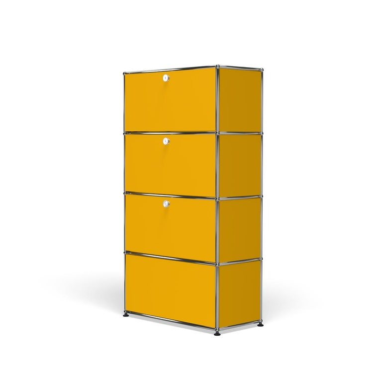 For Sale: Yellow (Golden Yellow) Haller Storage S118A Storage System by USM 2
