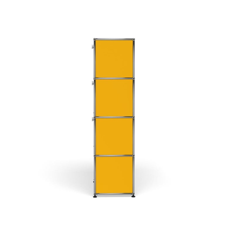 For Sale: Yellow (Golden Yellow) Haller Storage S118A Storage System by USM 3