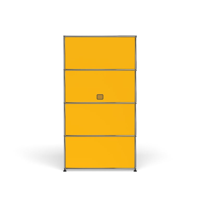 For Sale: Yellow (Golden Yellow) Haller Storage S118A Storage System by USM 4