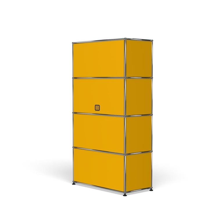 For Sale: Yellow (Golden Yellow) Haller Storage S118A Storage System by USM 5