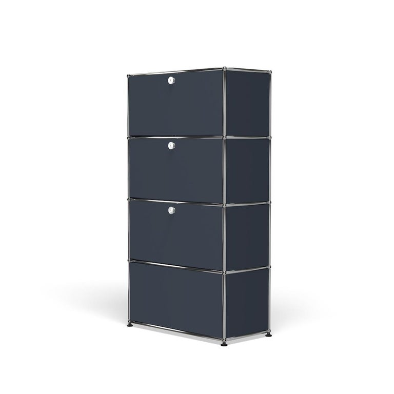 For Sale: Gray (Anthracite) Haller Storage S118A Storage System by USM 2