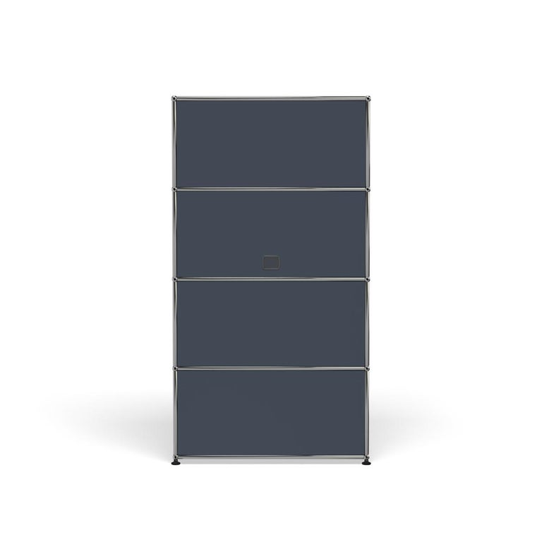 For Sale: Gray (Anthracite) Haller Storage S118A Storage System by USM 4