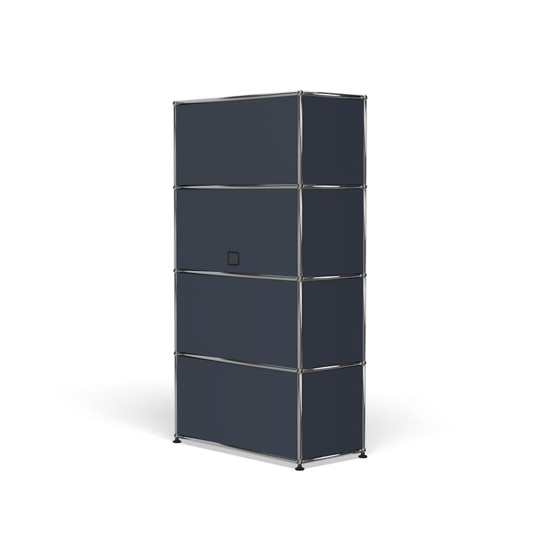 For Sale: Gray (Anthracite) Haller Storage S118A Storage System by USM 5