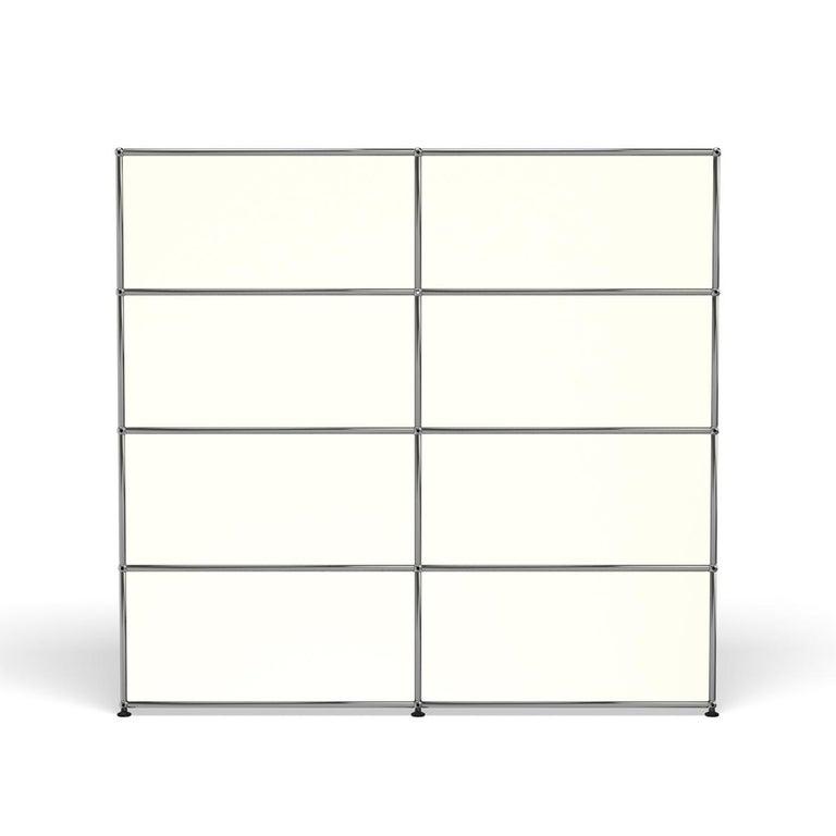 For Sale: White (Pure White) USM Haller Storage S2 Storage System 4