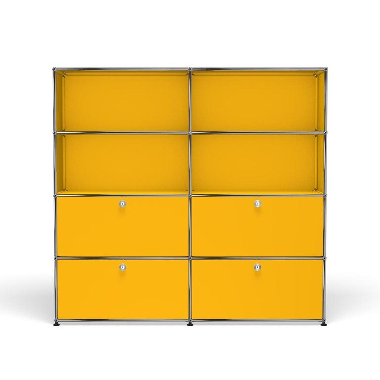 For Sale: Yellow (Golden Yellow) USM Haller Storage S2 Storage System
