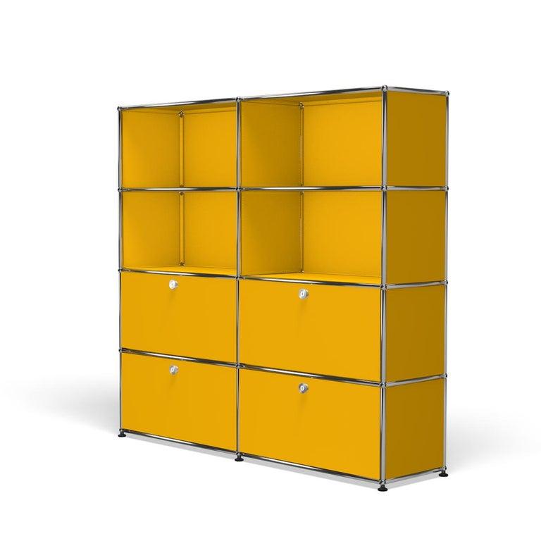 For Sale: Yellow (Golden Yellow) USM Haller Storage S2 Storage System 2